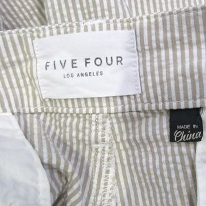 Five Four Shorts - NEW Five Four Taupe Tan Seersucker Shorts Size 36